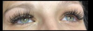 Classic Eyelash Extensions After